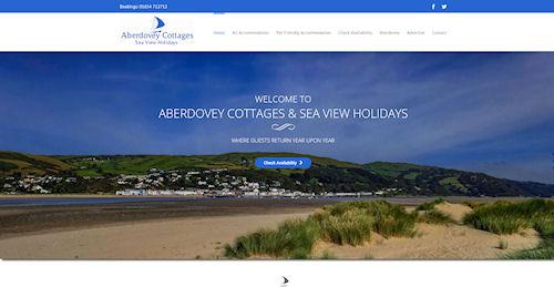 Holiday Lets Website Design Powys Gwynedd