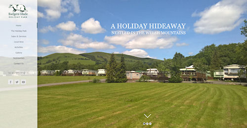 Holiday Home Website Design Powys