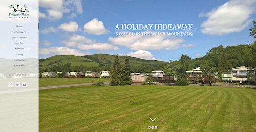 Holiday Home Website Design Powys