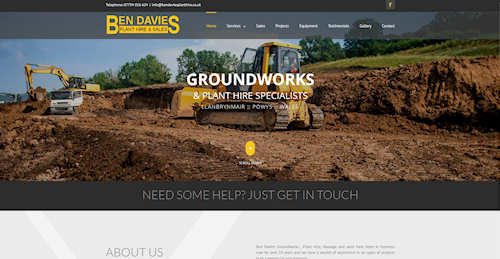 Website Design Newtown Powys
