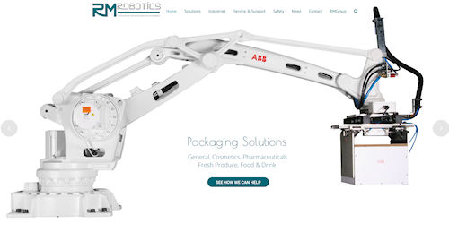 Web Design Newtown, Powys for RM Robotics